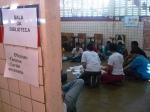 Oficina da Biblioteca no Circuito Cultural Coque Vive na Escola Estadual Monsenhor Leonardo